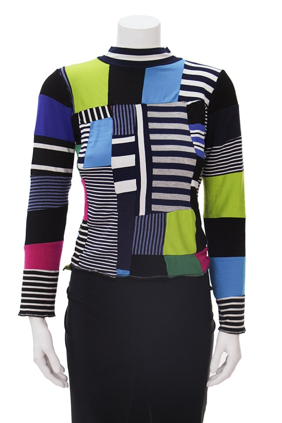 Patchwork Long Sleeve
