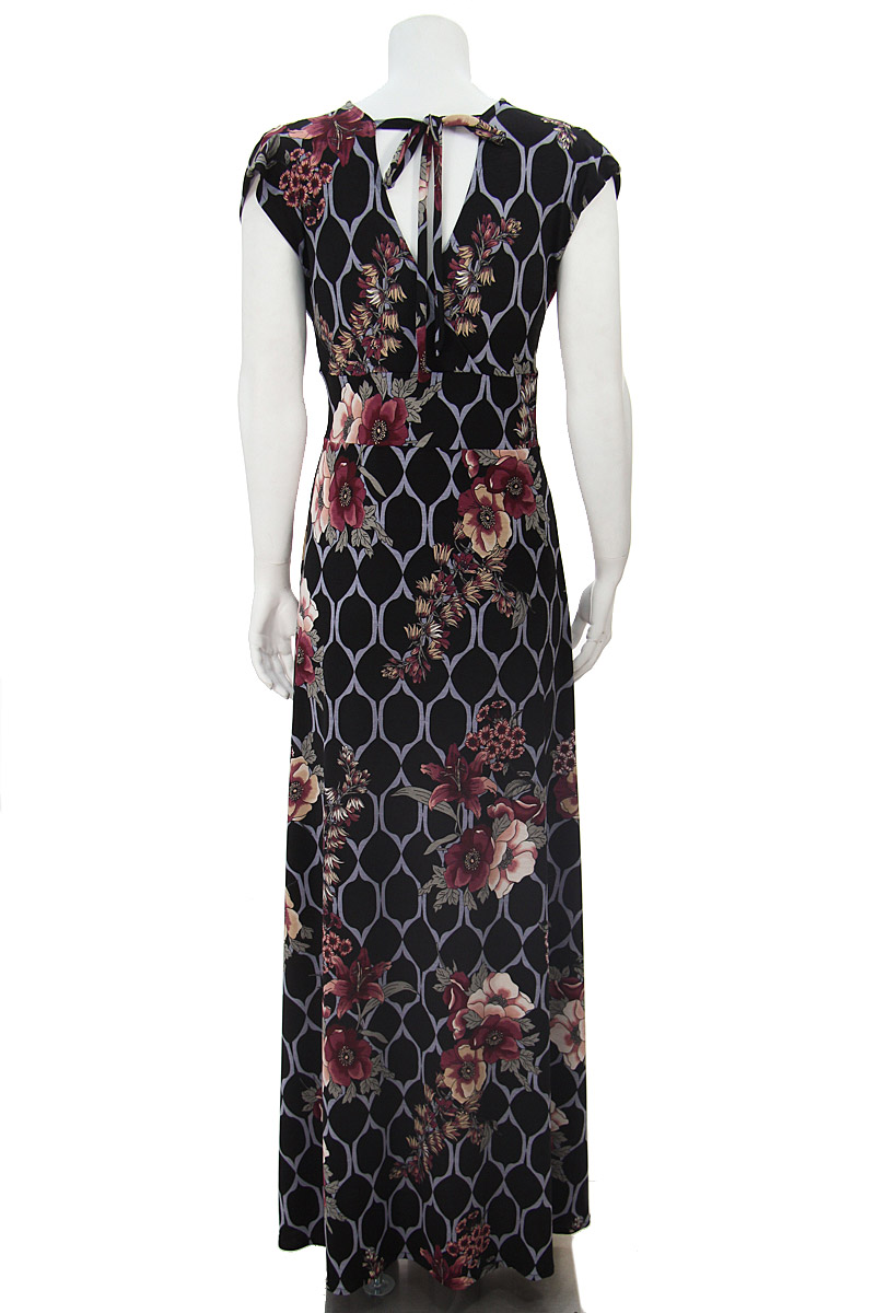 Veronica Lake Diamonds and Florals Maxi Dress