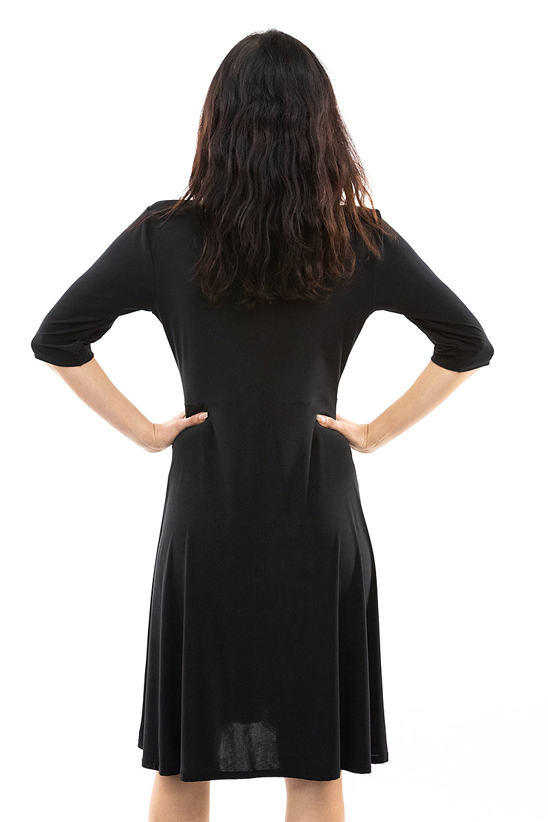 Black Ziggy Dress