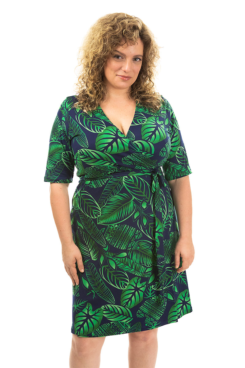 Lily Pad Dreams Wrap Dress
