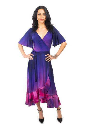 Purple Seduction Scarlet Dress
