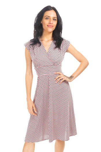 Triangles Are Sweet! Veronica Lake Dress