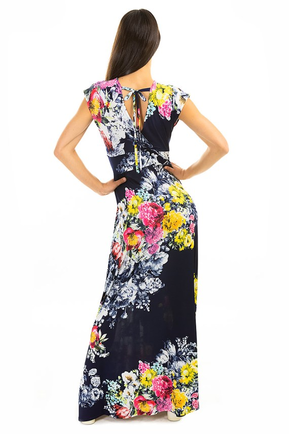 Bouquet Veronica Lake Maxi Dress