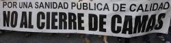 """Médicos y enfermeros denuncian la """"situación límite"""" del Hospital de La Paz por falta de camas"""
