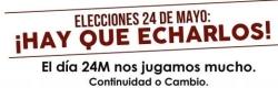 24 DE MAYO: Hay que echarlos !!!
