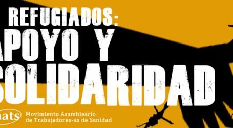 REFUGIADOS: APOYO Y SOLIDARIDAD