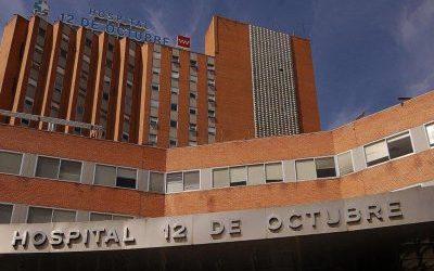 Los techos del Hospital 12 de Octubre siguen haciendo aguas