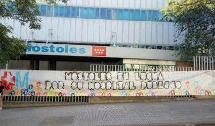 La Plataforma en Defensa de Hospital Público de Móstoles denuncia un apagón