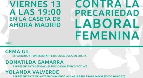 Contra la Precariedad Laboral Femenina. 13 Octubre