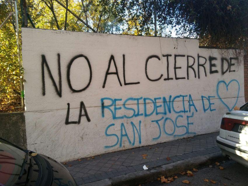 No al cierre de la residencia San José