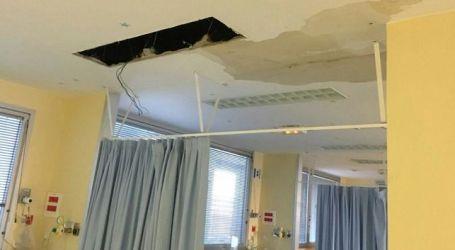 """El equipo de enfermería de la UCI pediátrica inundada: """"Se pone en riesgo la seguridad de los pacientes"""""""