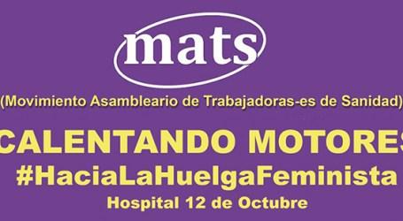 Calentando Motores #HaciaLaHuelgaFeminista en el hospital 12 de Octubre