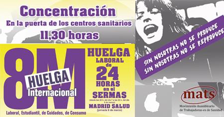 8M Concentraciones Centros Sanitarios