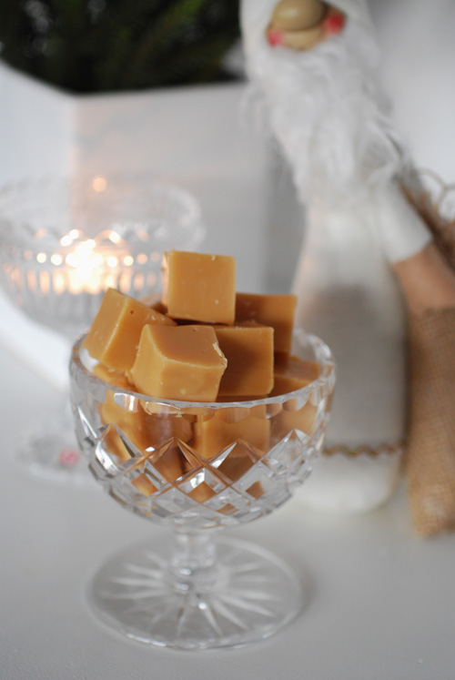 vit choklad fudge