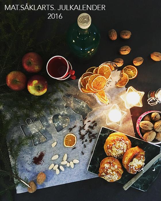 mat såklart julkalender 2