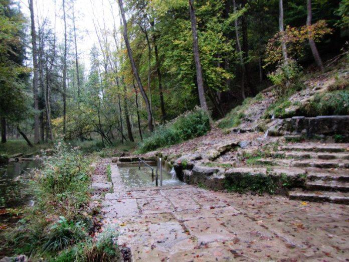 Natur-Kneippbecken