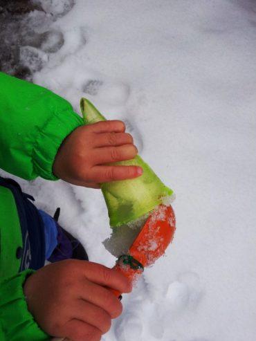 Eis-und-Schnee-Verkauf