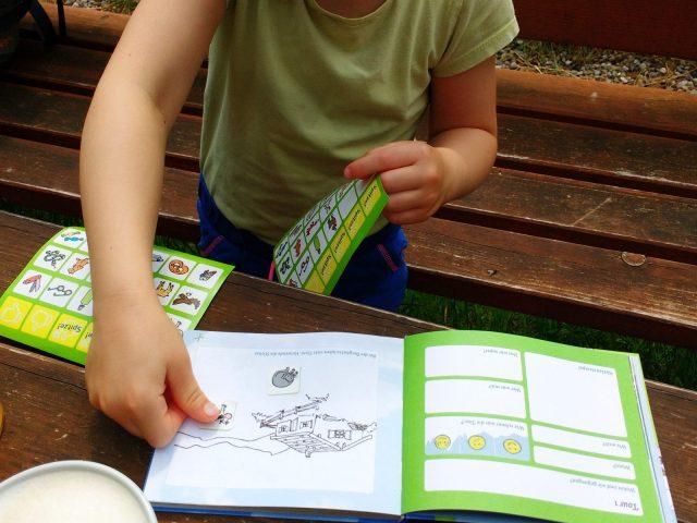 Motivationshilfe Tourenbuch für Kinder