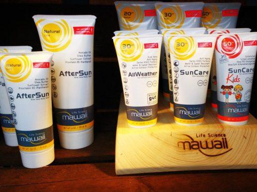 Sonnencremes für Sportler und Kinder von Mawaii