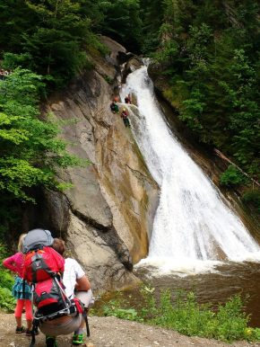 Canyoning aus der Beobachter-Rolle