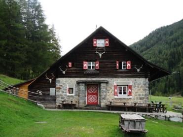 Parkhuette Varusch im Schweizer Nationalpark