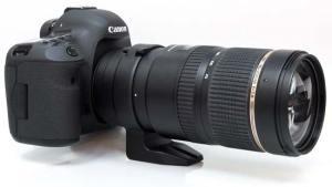 Ttamron SP 70-200mm på en Canon 5Dmk III Tamrons nya glugg (bild fr photographyblog.com)