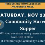 Community Harvest Supper
