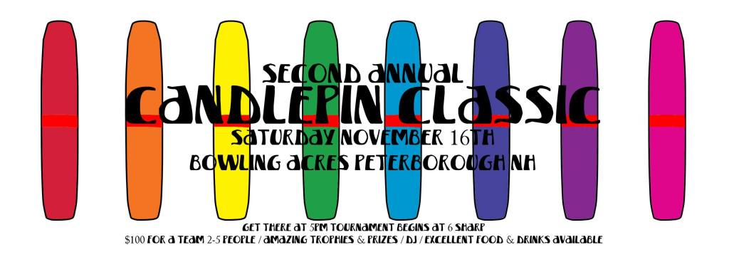 Second Annual Candlepin Classic Fundraiser
