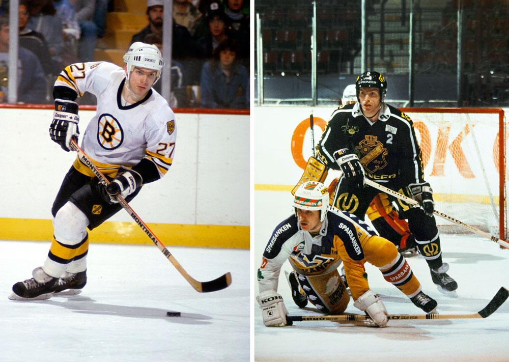 "Mats ""Mördar'n"" Thelin, AIK, Boston Bruins"