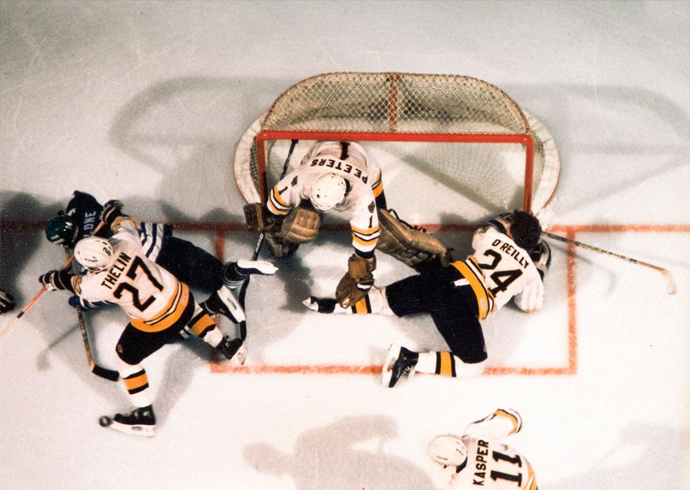 """Mats """"Mördar'n"""" Thelin, Boston Bruins"""