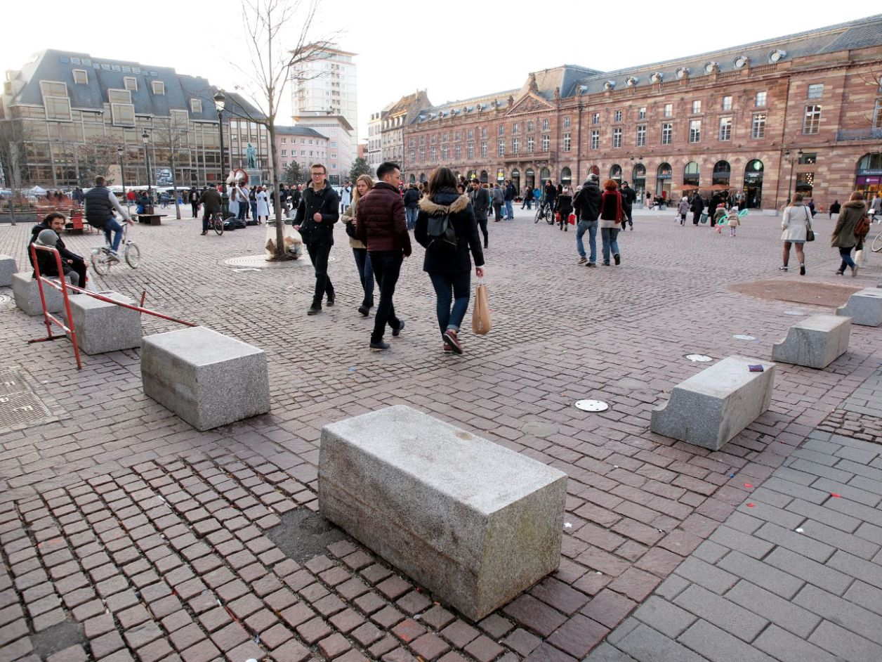 ストラスブール(仏)のクレベール広場 (2017年2月撮影)© Matsuda Masahiro