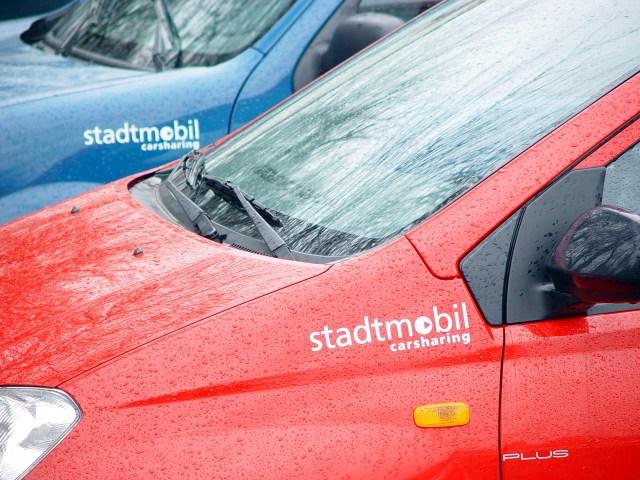 カーシェアリング「Stadtmobil」の車体 © Matsuda Masahiro