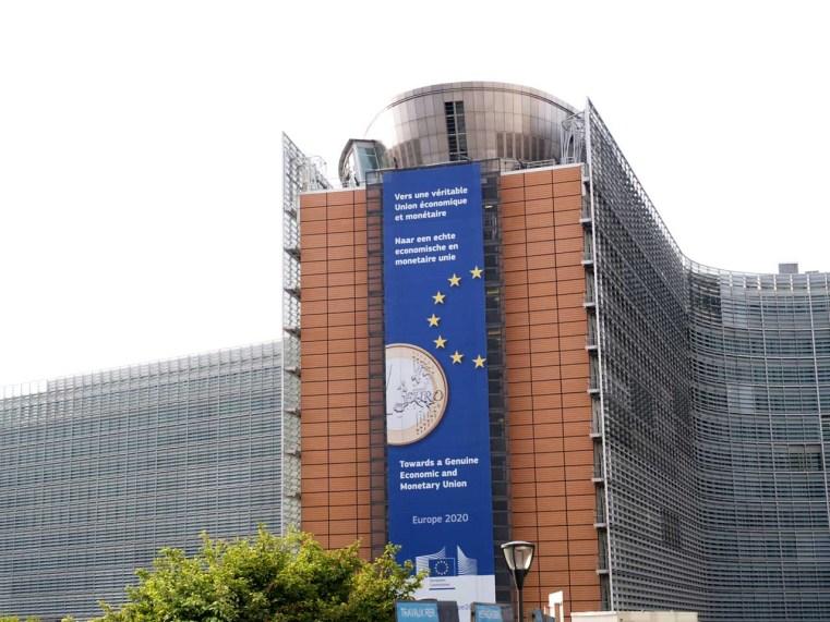 ブリュッセルの欧州委員会本部 © Matsuda Masahiro