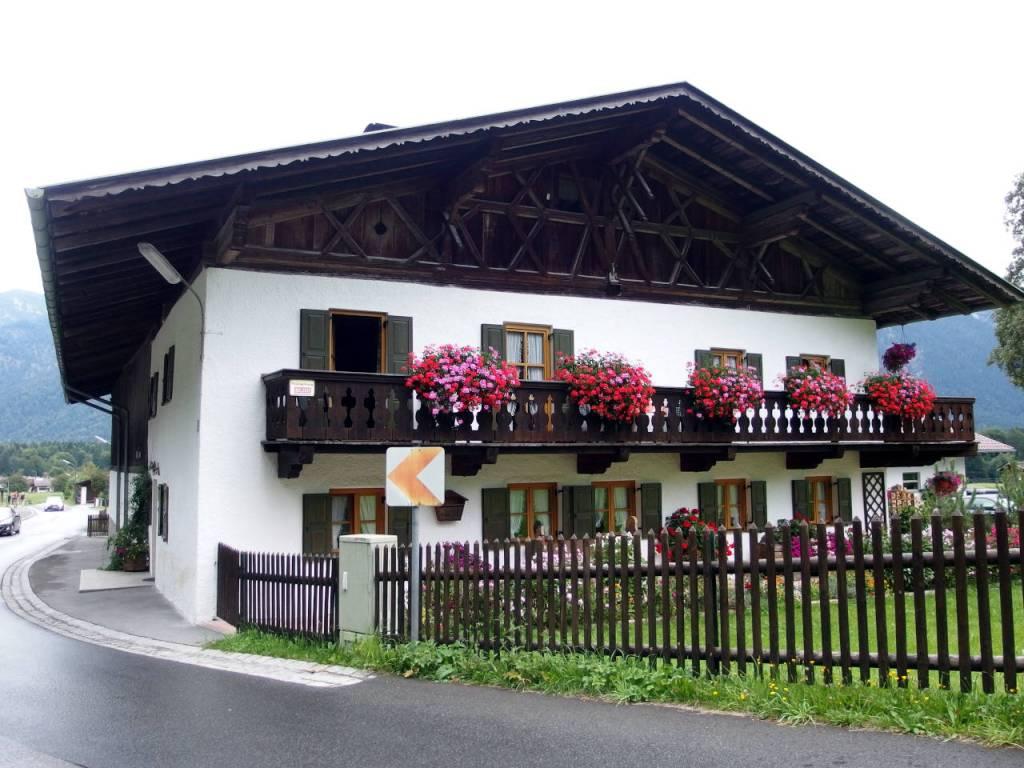 山岳地方の住宅、バイエルン州 © Matsuda Masahiro