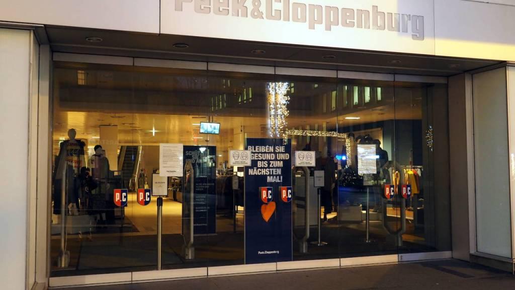 ロックダウンで小売店は営業禁止、カールスルーエ © Matsuda Masahiro
