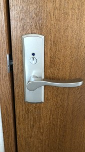 ウッドワンのトイレ錠