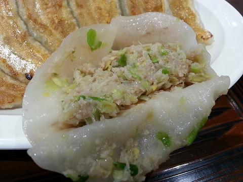 大阪王将の餃子の中身