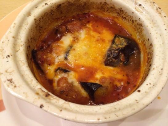 ジョナサンの茄子とミートソースのオーブン焼き