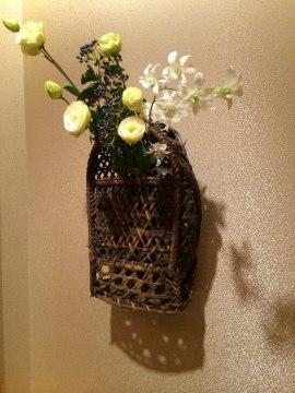 梅の花の部屋の花