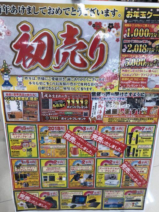 ノジマの福袋の売れ行き状況