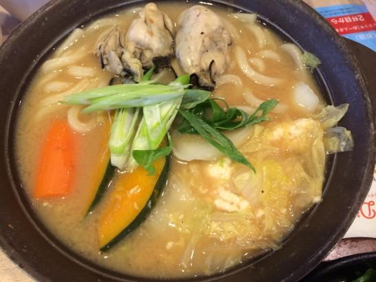ガストの牡蠣の味噌ちゃんこ鍋