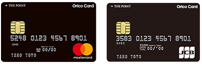 Orico Card THE POINTの国際ブランド