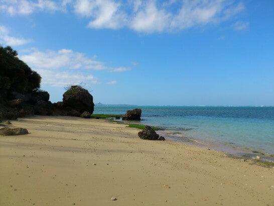 沖縄のサンセットビーチ
