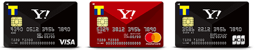 Yahoo!JAPANカードの決済ブランドの種類