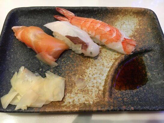 メトロポリタン エドモントの寿司