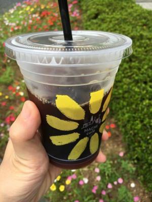 ローソンのアイスコーヒー