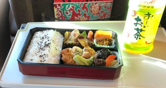 東海道新幹線での食事(弁当)