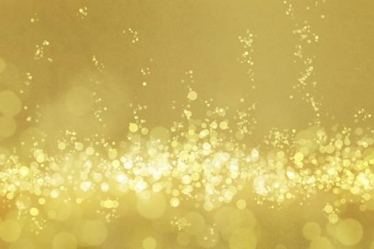 ゴールドの気泡