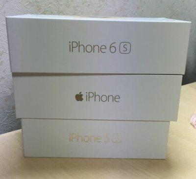 iPhone 5s・6・6sの箱