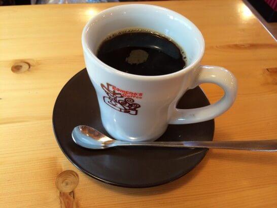 コメダ珈琲のたっぷりコーヒー